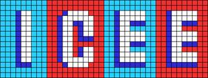 Alpha pattern #67618