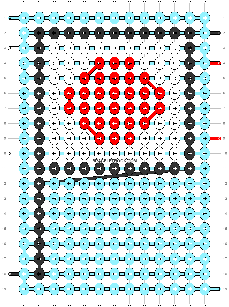 Alpha pattern #67619 pattern