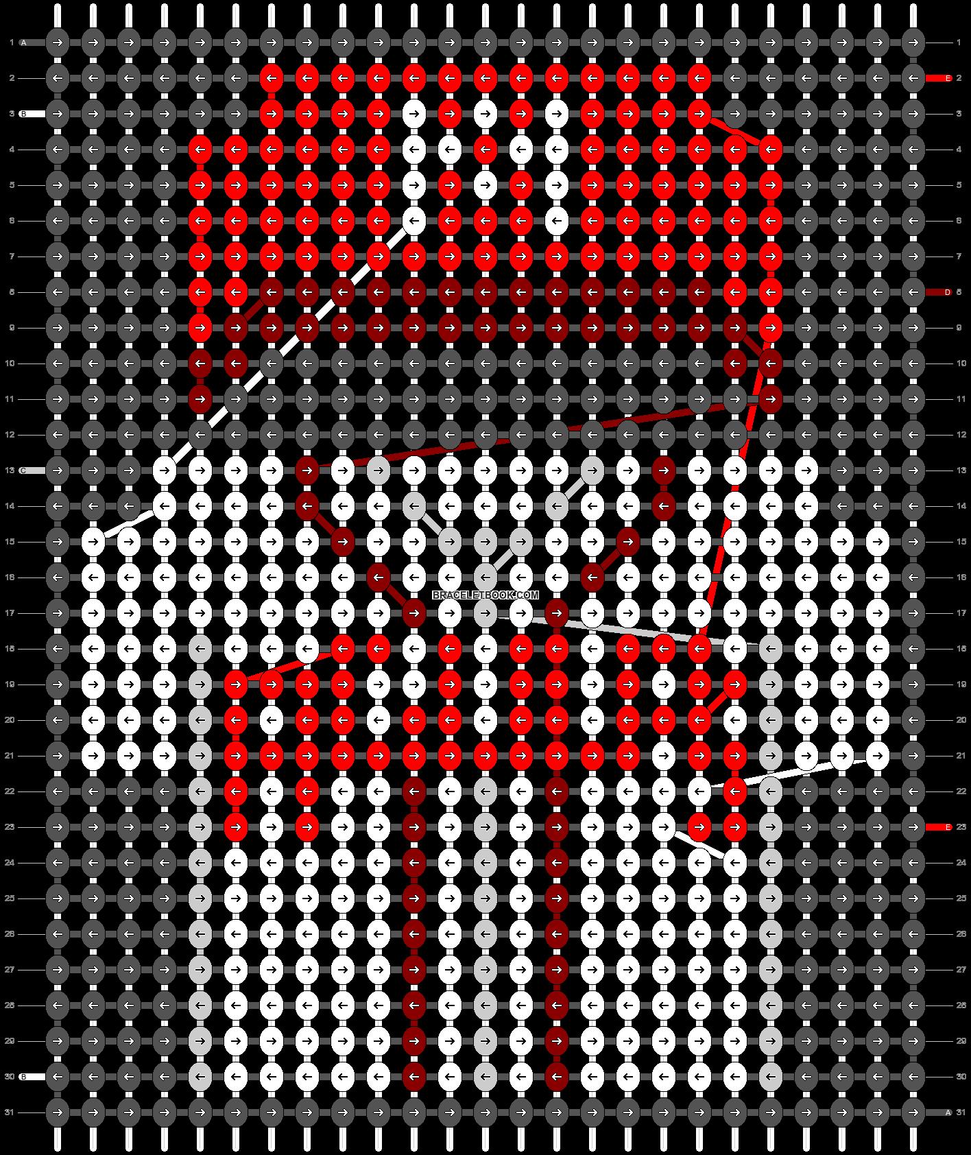 Alpha pattern #67736 pattern