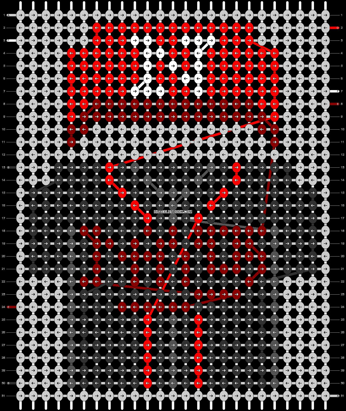Alpha pattern #67740 pattern