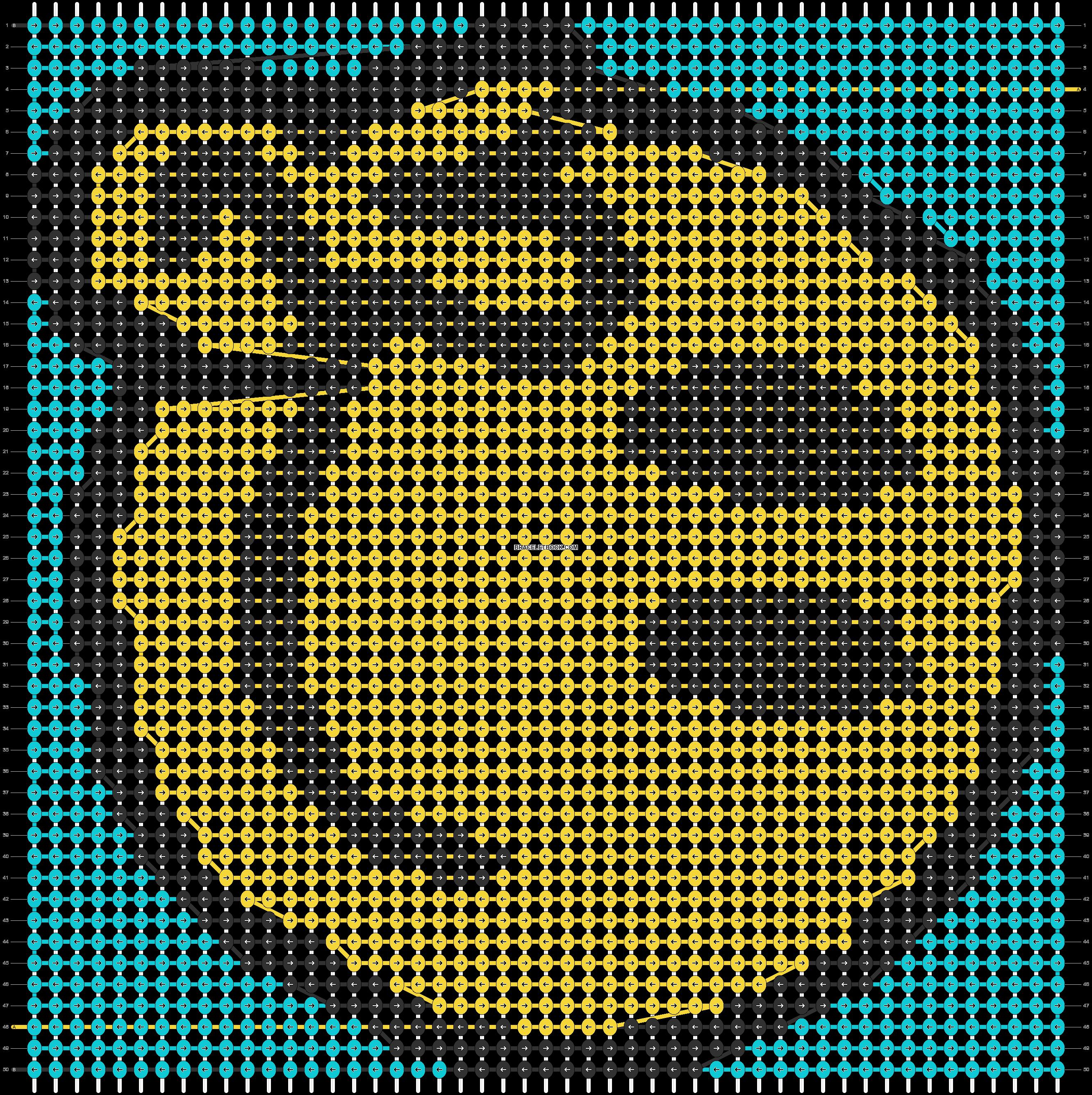 Alpha pattern #67791 pattern