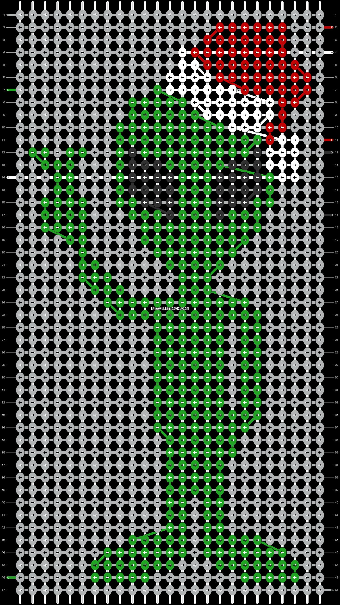Alpha pattern #67827 pattern