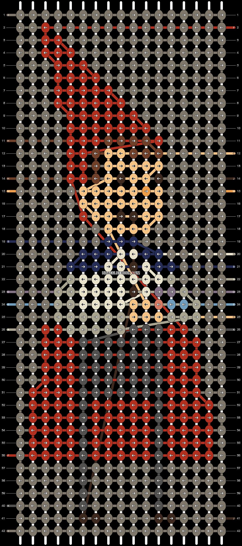 Alpha pattern #67836 pattern