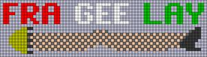 Alpha pattern #67854