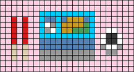 Alpha pattern #67880