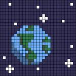 Alpha pattern #67890