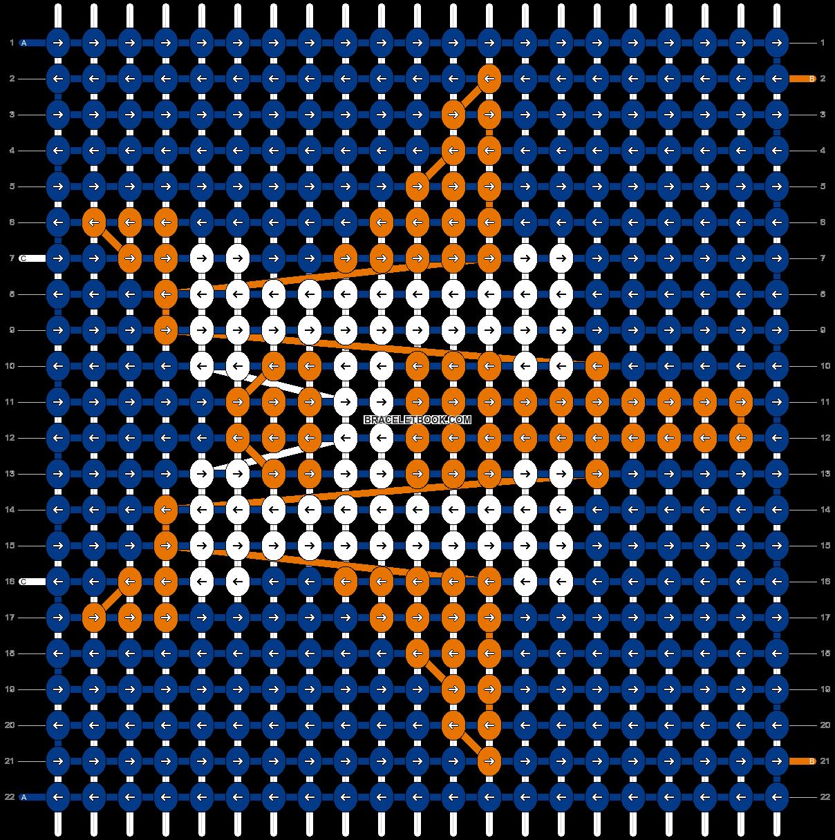Alpha pattern #67970 pattern