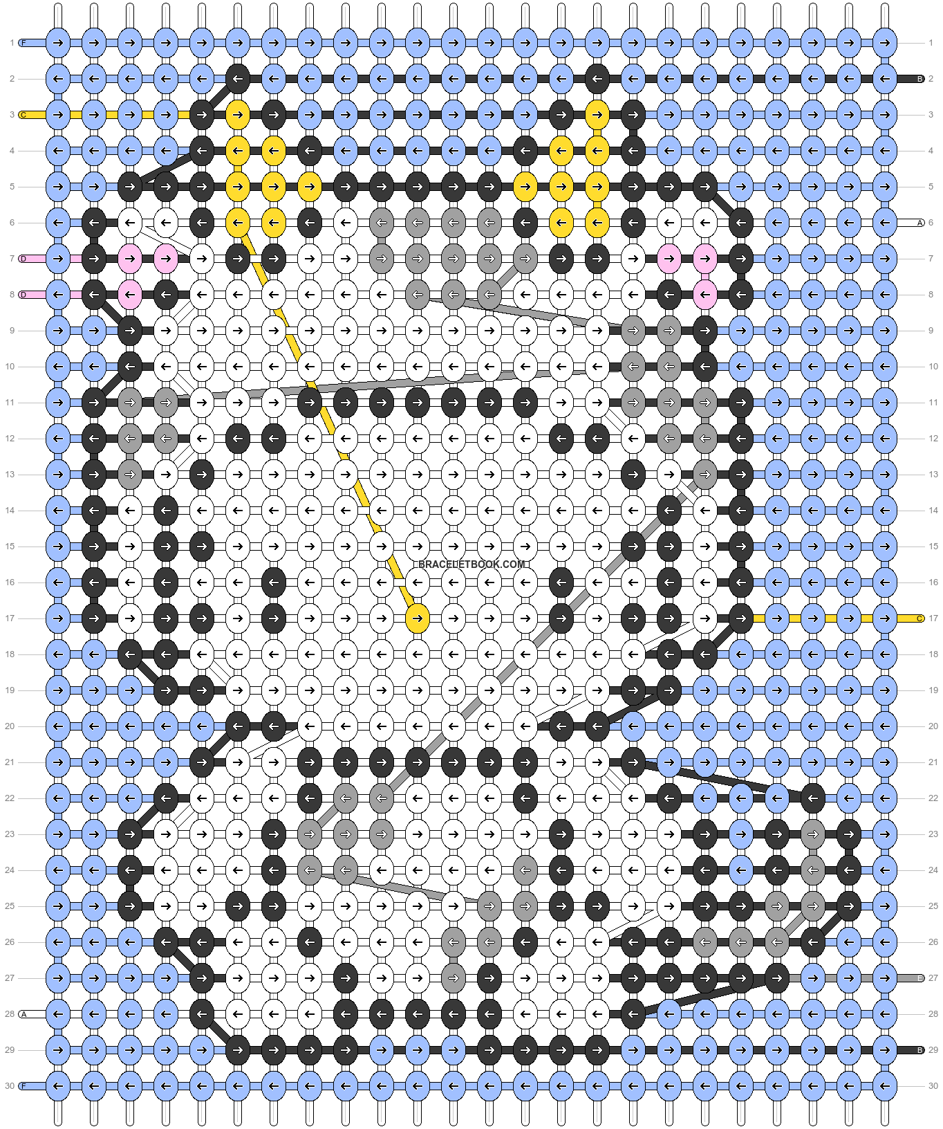 Alpha pattern #68010 pattern