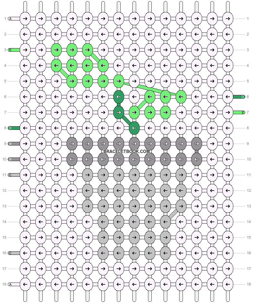 Alpha pattern #68032 pattern