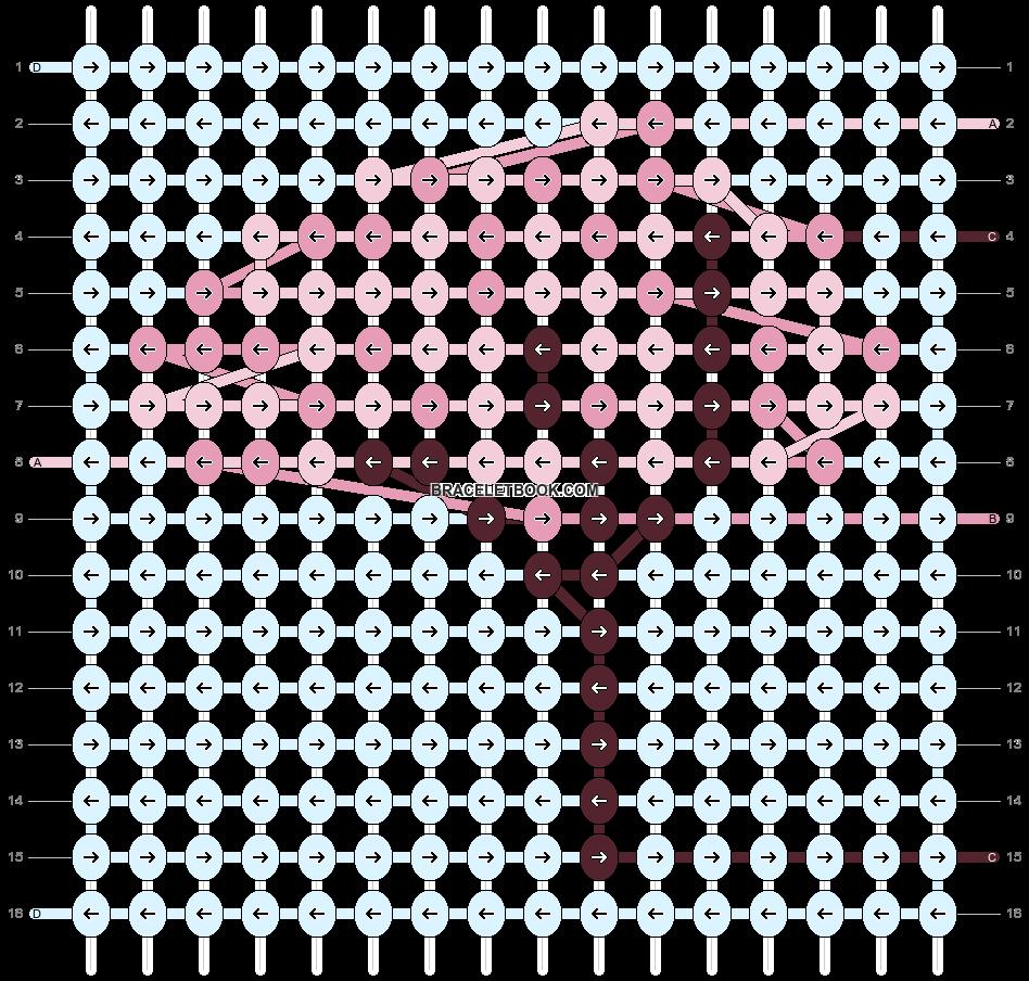 Alpha pattern #68042 pattern