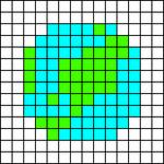 Alpha pattern #68057