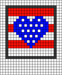 Alpha pattern #68086