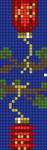 Alpha pattern #68099