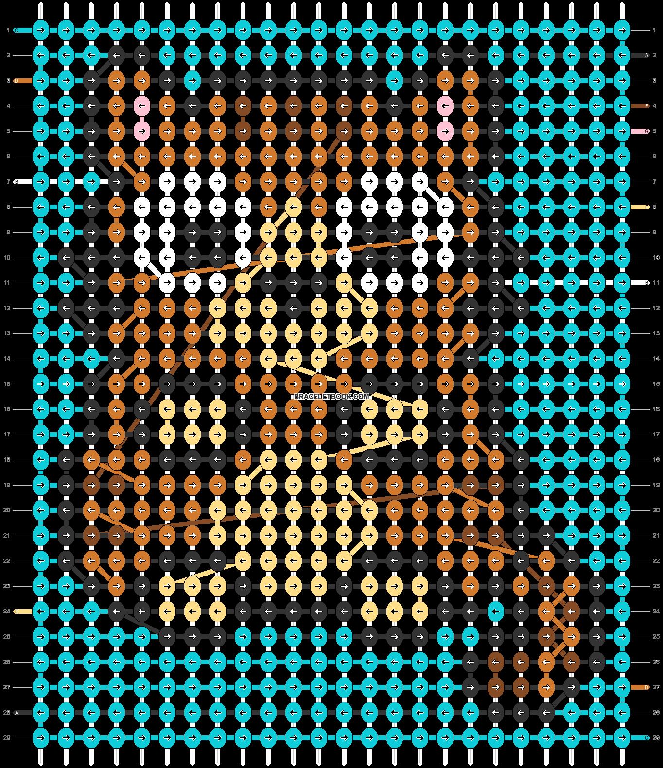 Alpha pattern #68102 pattern
