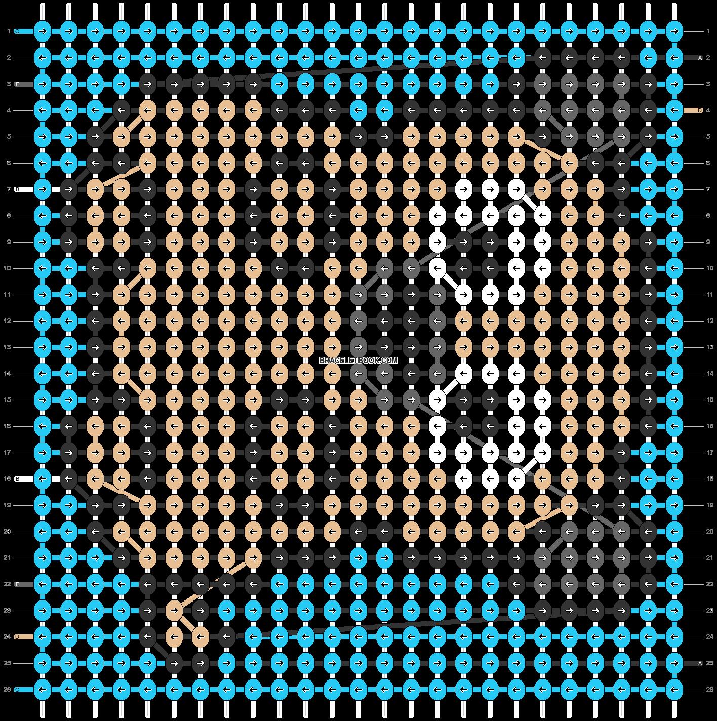 Alpha pattern #68106 pattern