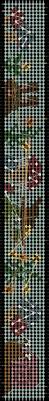 Alpha pattern #68125 pattern