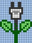 Alpha pattern #68129