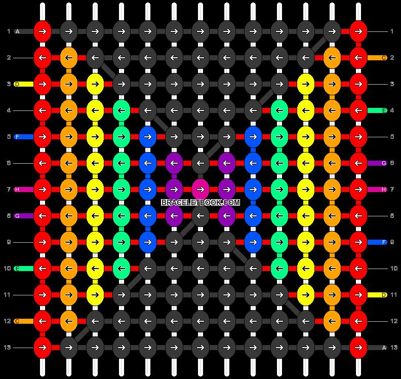 Alpha pattern #68130 pattern