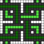 Alpha pattern #68151