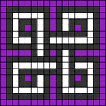 Alpha pattern #68153