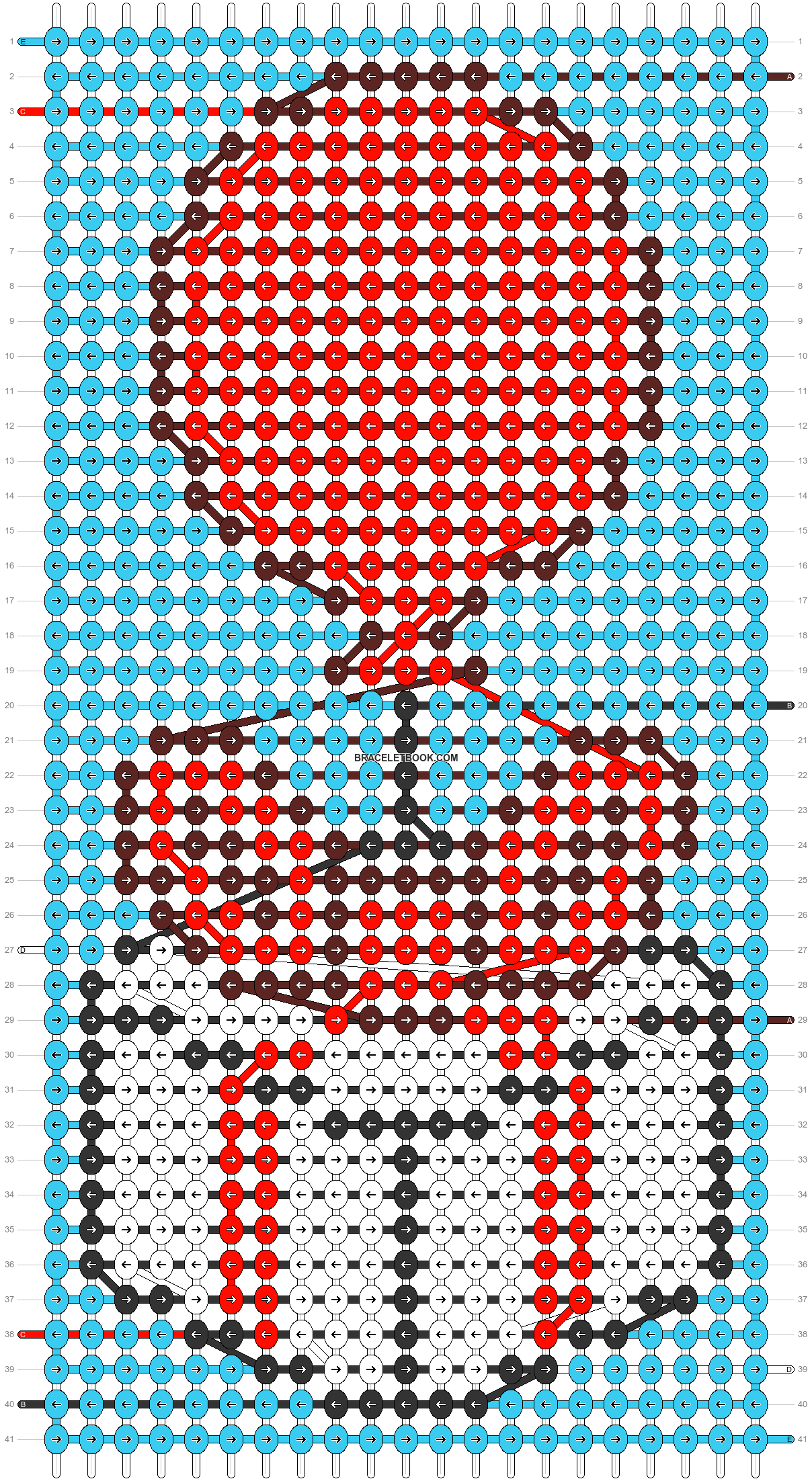Alpha pattern #68164 pattern