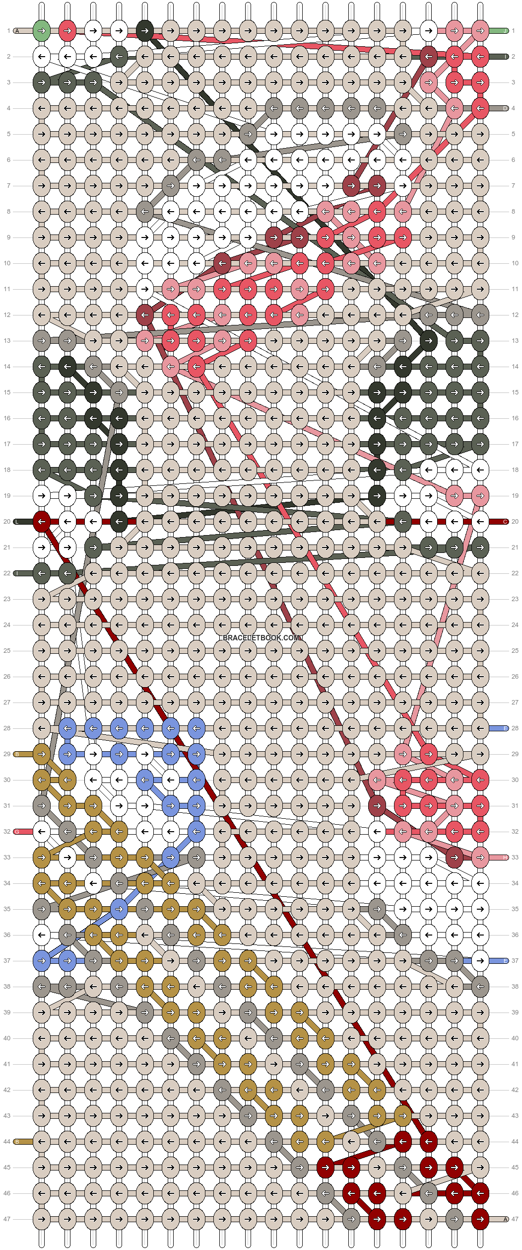Alpha pattern #68172 pattern