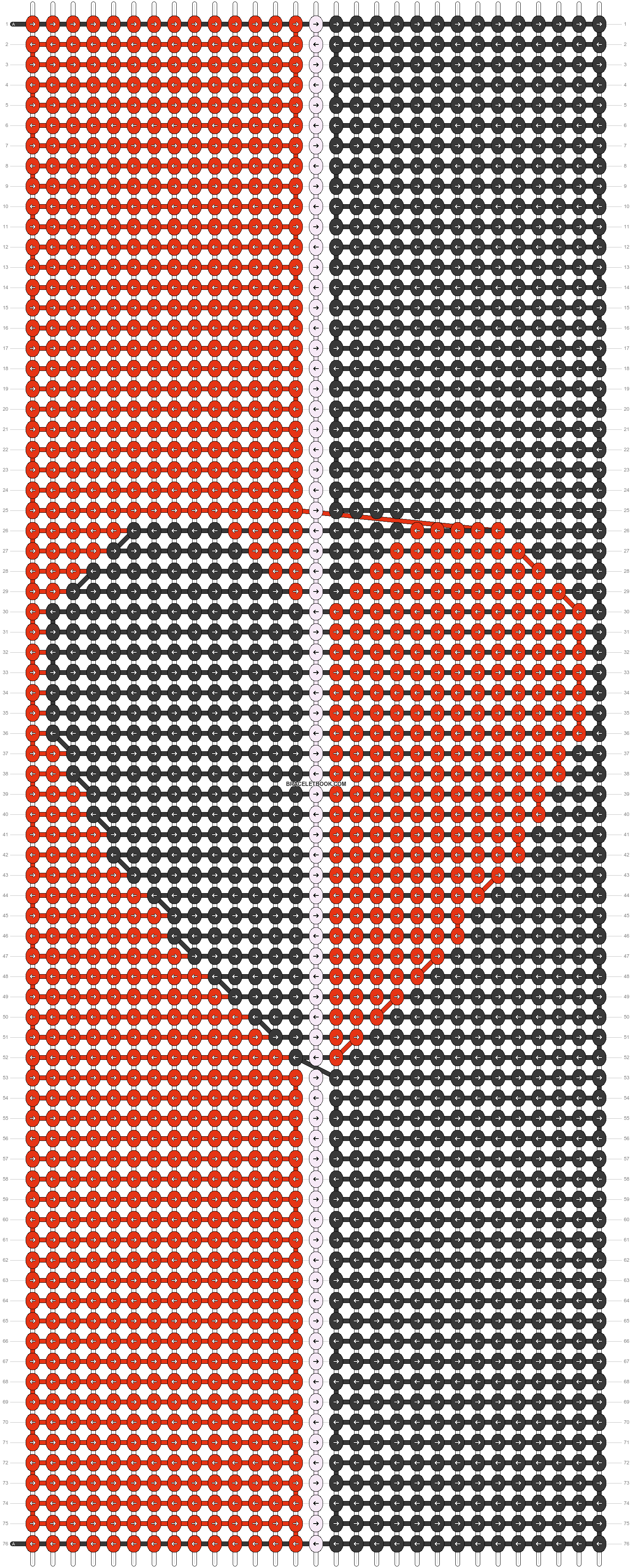 Alpha pattern #68204 pattern