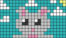 Alpha pattern #68205