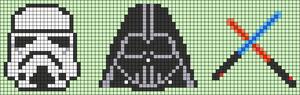 Alpha pattern #68229