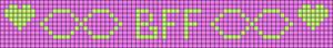 Alpha pattern #68284