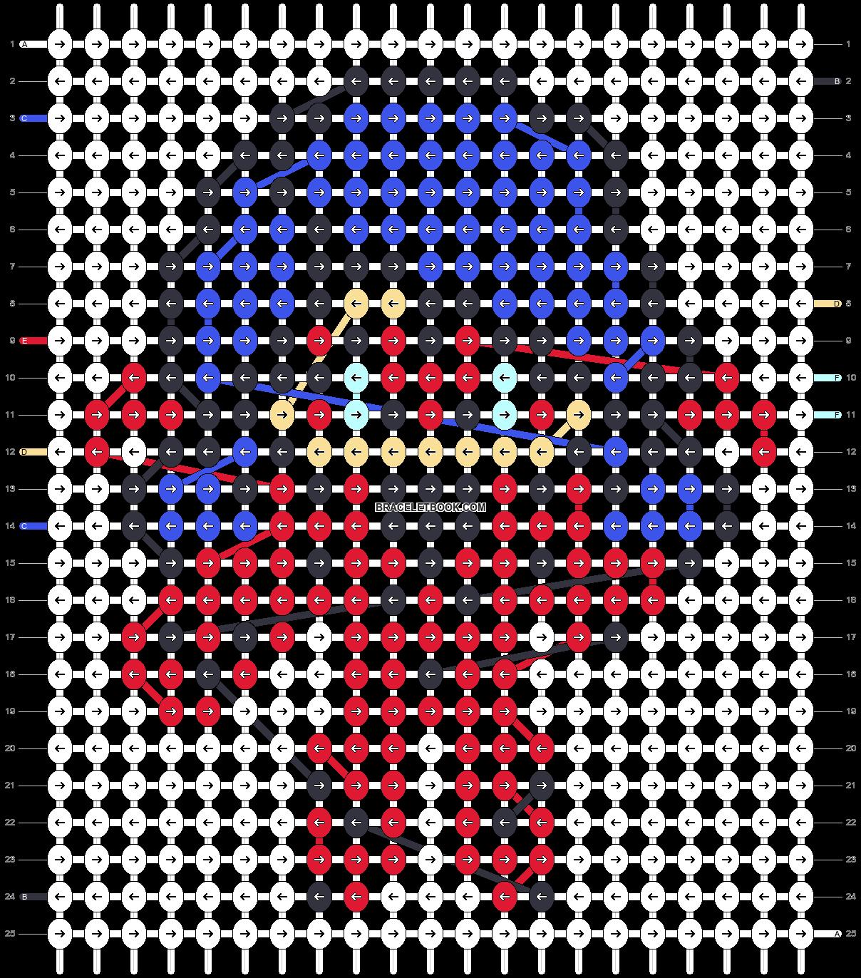 Alpha pattern #68341 pattern