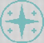 Alpha pattern #68390