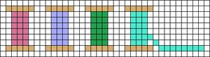 Alpha pattern #68405
