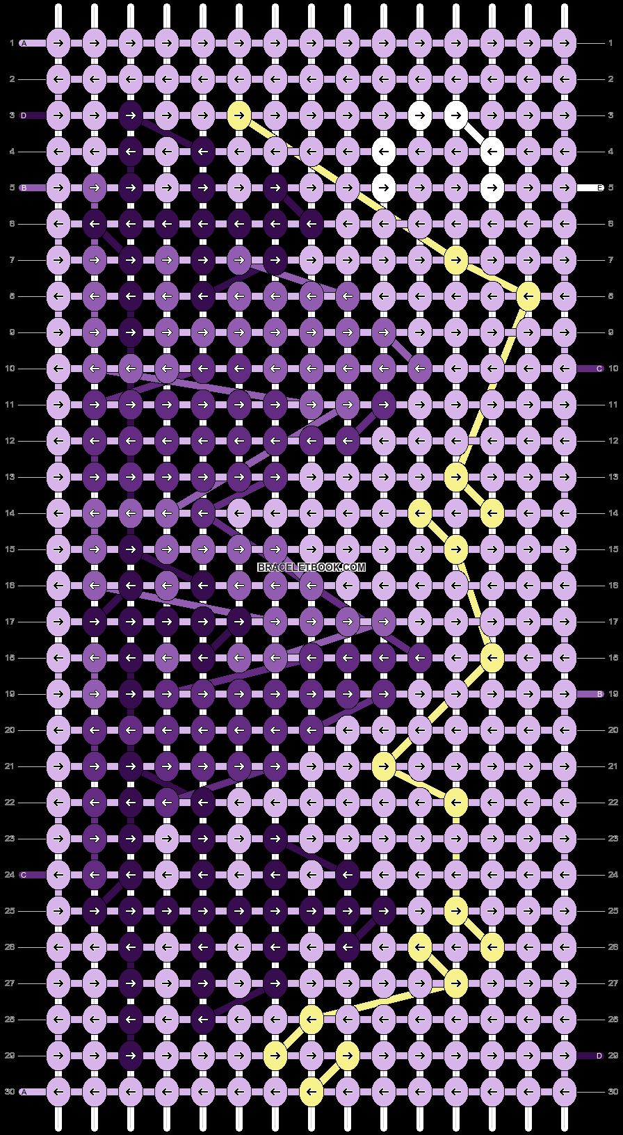 Alpha pattern #68437 pattern