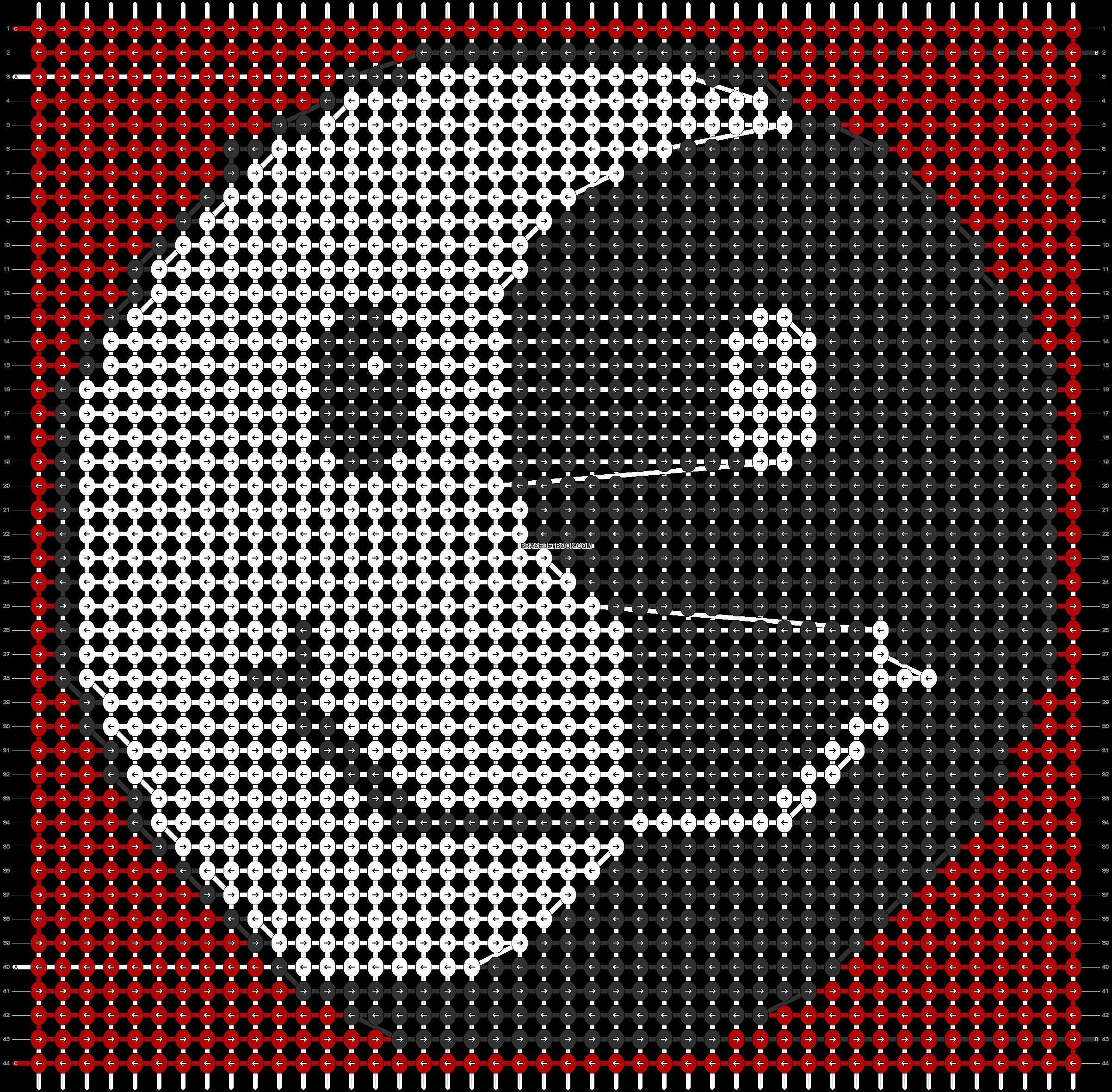 Alpha pattern #68449 pattern