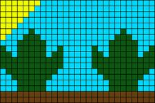 Alpha pattern #68452