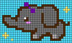 Alpha pattern #68466