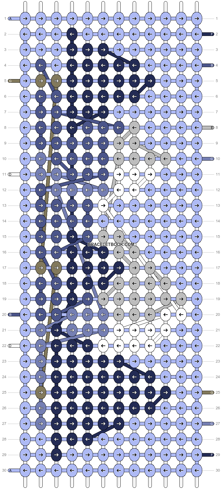 Alpha pattern #68490 pattern