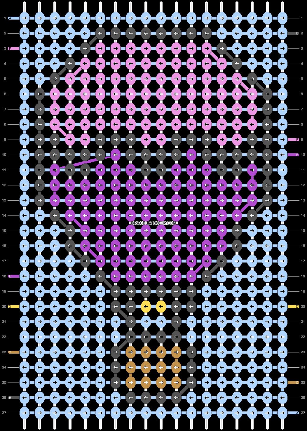Alpha pattern #68512 pattern