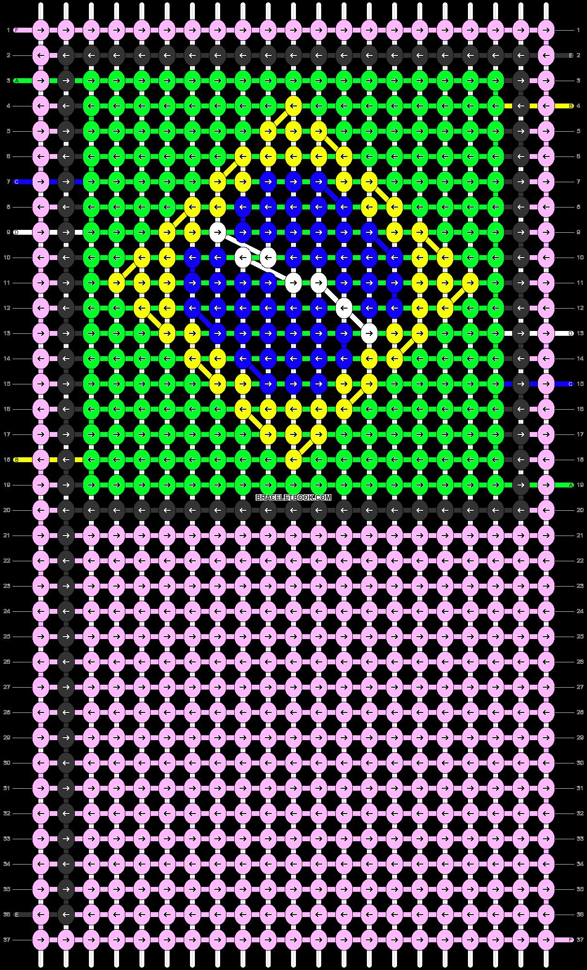 Alpha pattern #68518 pattern