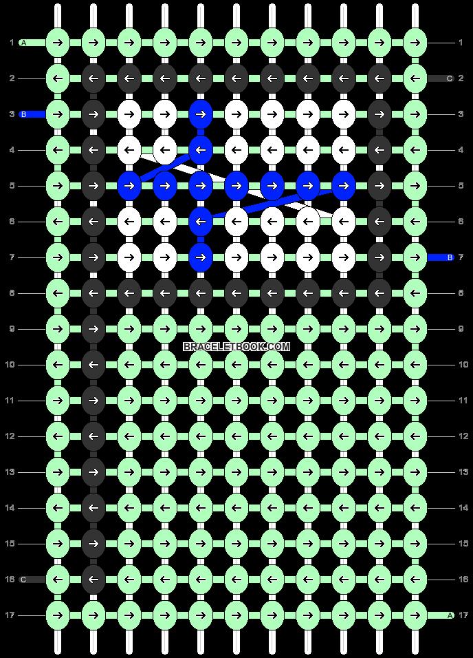 Alpha pattern #68519 pattern