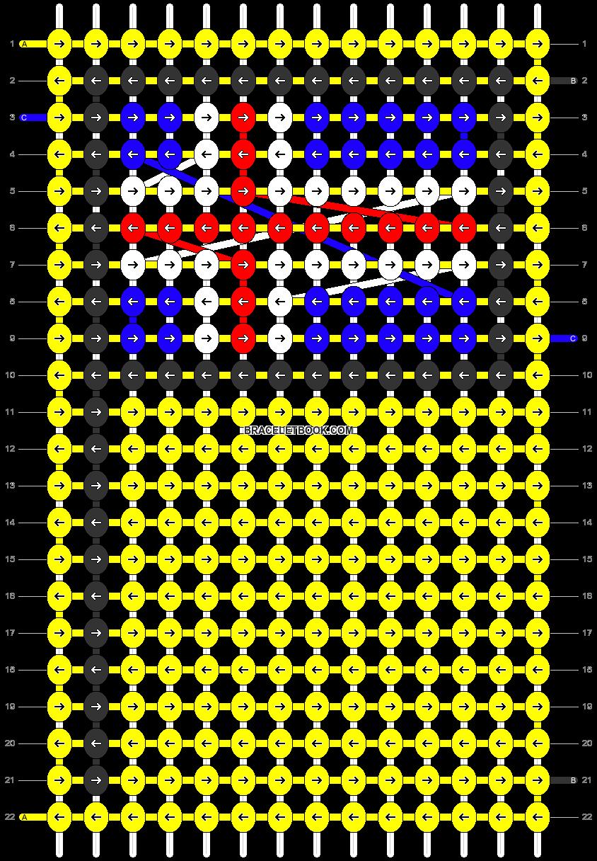 Alpha pattern #68522 pattern