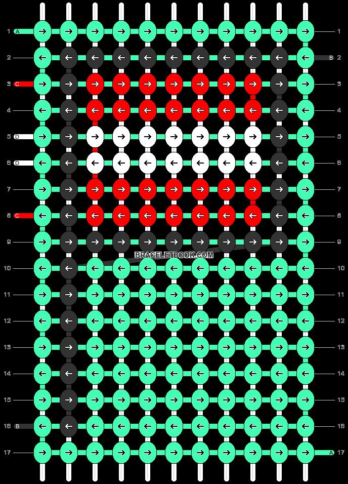 Alpha pattern #68552 pattern