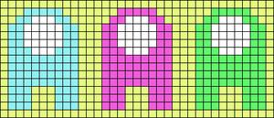 Alpha pattern #68554