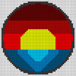 Alpha pattern #68600