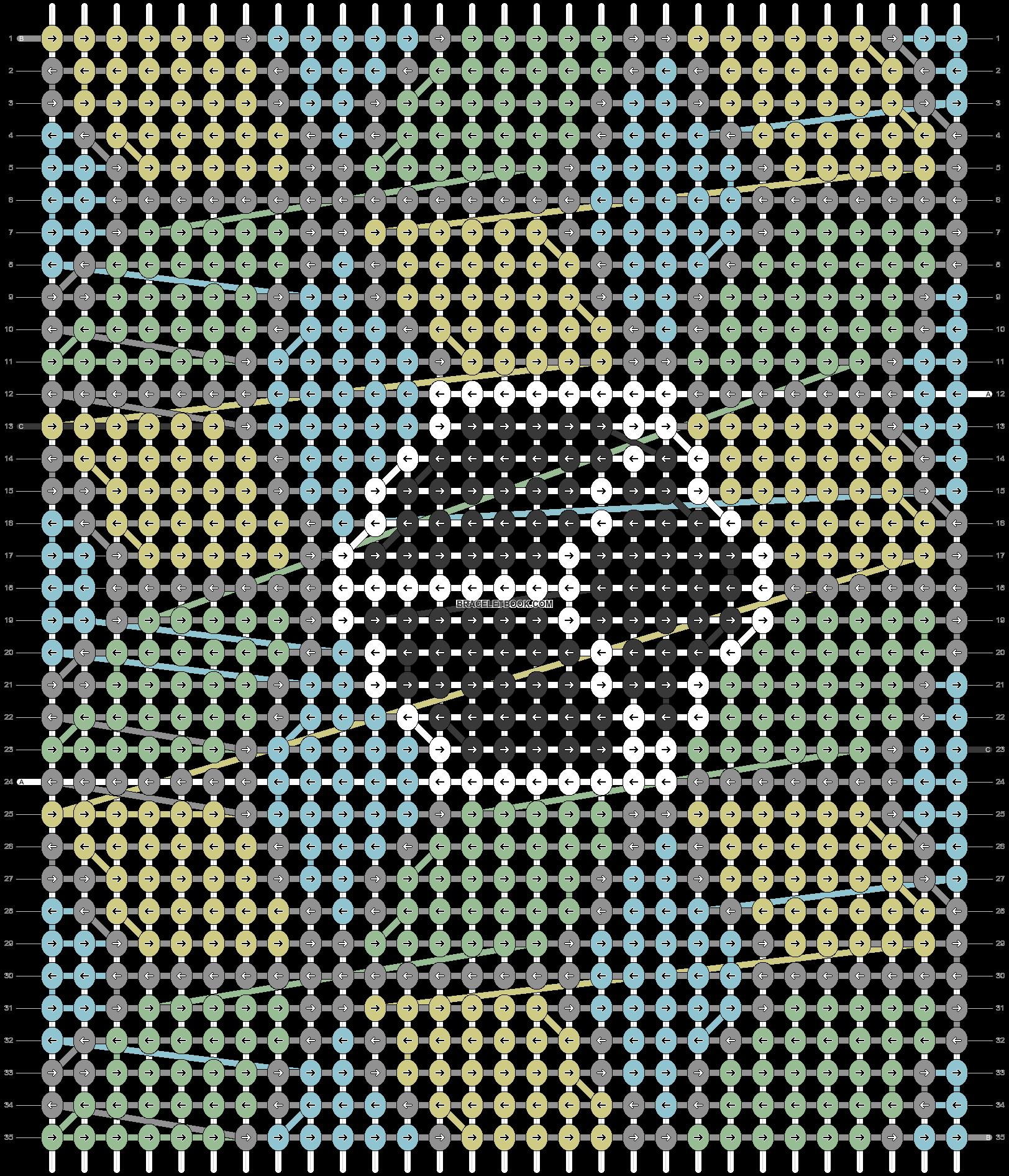 Alpha pattern #68605 pattern