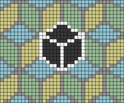Alpha pattern #68605