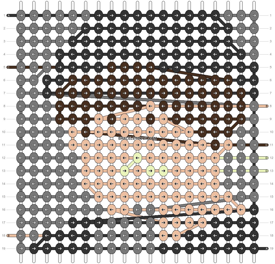 Alpha pattern #68615 pattern