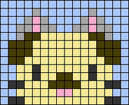 Alpha pattern #68636