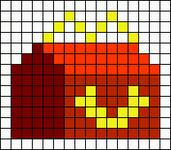 Alpha pattern #68672